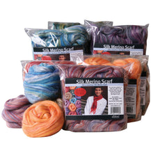Load image into Gallery viewer, Silk/Merino Scarf Kits