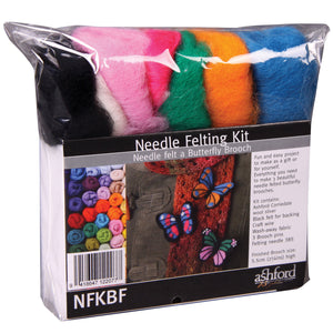 Needle Felting Kit - Butterfly Broach
