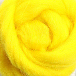 Merino Top (22 Micron) Yellow
