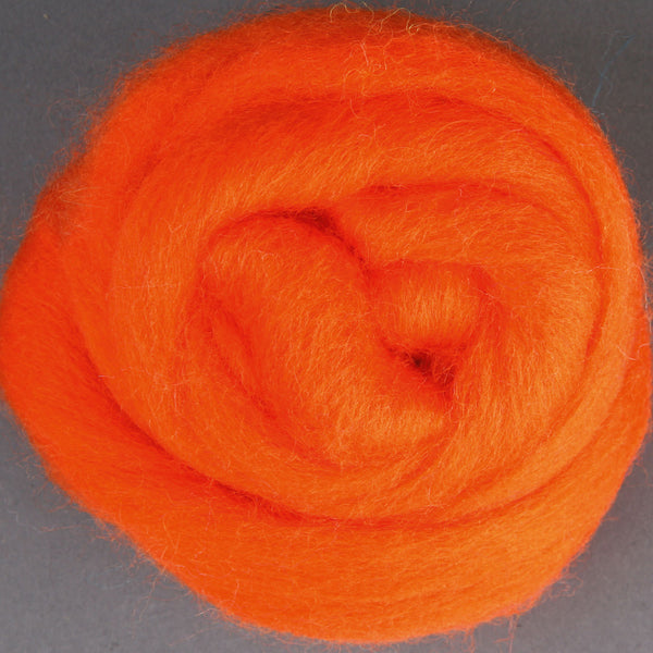 Merino Top (22 Micron) Orange