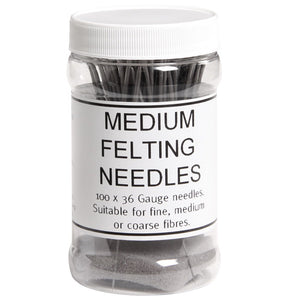 Felting Needles Medium 36 Gauge