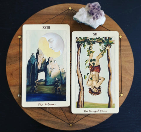 The Moon & The Hanged Man