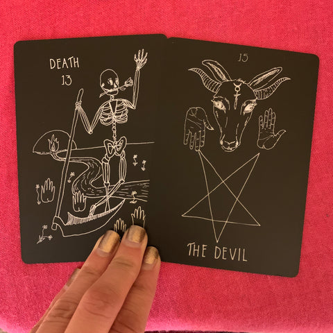 Death & The Devil : A deeper understanding of the tarot
