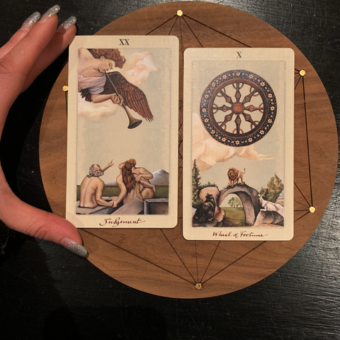 Tarot guidance for the heart, relationships, self-love and personal evolutions