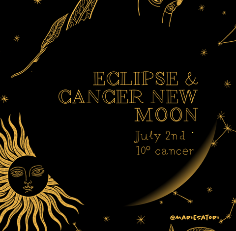 Cancer New Moon & Eclipse