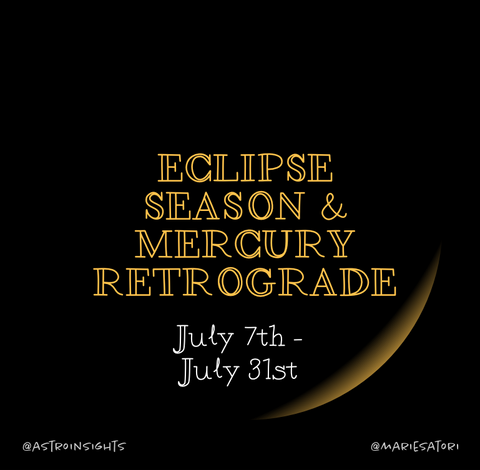 Mercury Retrograde & Eclipse Season