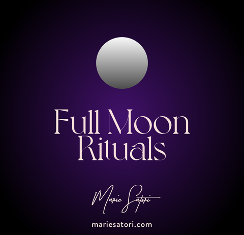 Uncrossing & Full Moon Ritual