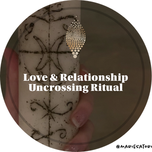 Love Uncrossing, Clearing & Blessing Candle Ritual
