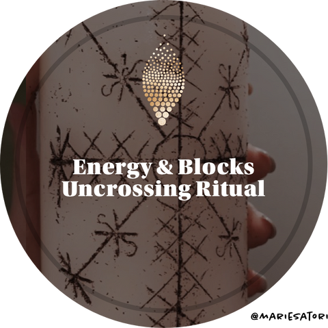 Energy Uncrossing, Clearing & Blessing Candle Ritual