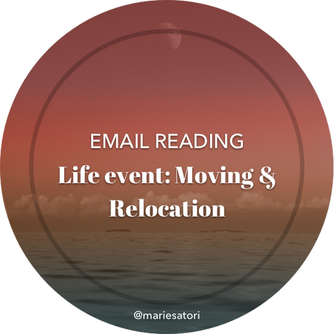 Life Change, Moving & Relocation