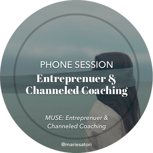 Coach with Me: Entrepreneur, Muse & Creative Sessions