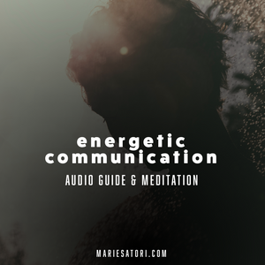 Telepathic & Empathic Communication - Online Audio Guide & Meditation