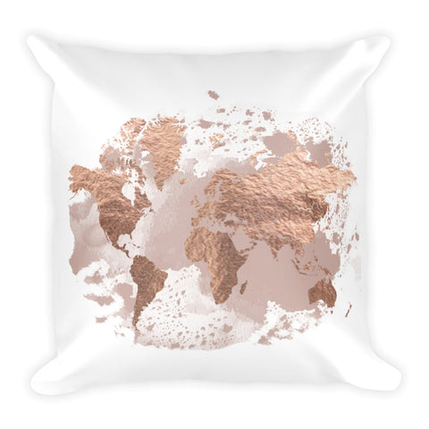 Rose & Blush | Throw Pillow