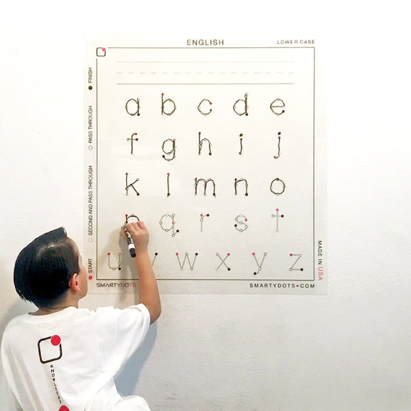 Alphabet | English Lower Case (28x30)