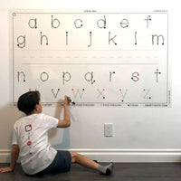 Alphabet | English Lower Case (58x35)