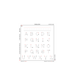 Alphabet | English Upper Case (28x30)