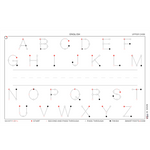 Alphabet | English Upper Case (58x35)