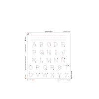 Alphabet | Spanish Upper Case (28x30)