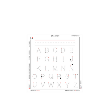 Alphabet | Spanish Upper Case (28x30) - SD2.0 | Photo Shoot Prop