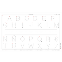 Alphabet | Spanish Upper Case (58x35) - SD2.0 | Photo Shoot Prop