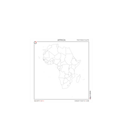 Africa | Tectonic Plate (28x30)