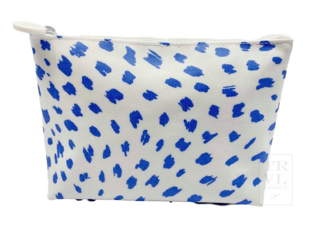 Spot On! Blue Cosmetic Bag