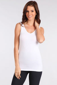 Reversible V & Scoop Neck Tank