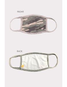Adult Civilian Camo Mask