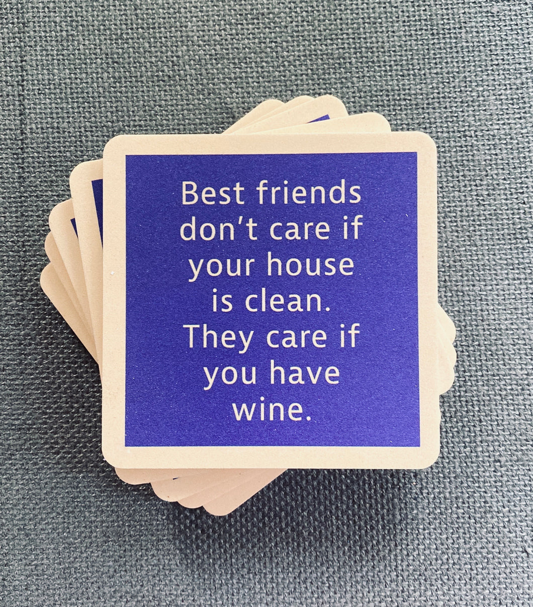 Clean House Drink Coaster