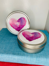 Heart Tin Candles (wickless soy)