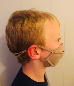 High Quality Youth Face Masks (toddler up to age 8)