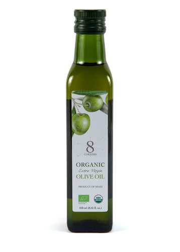 8 Corners Organic Extra Virgin Olive Oil - 250ml