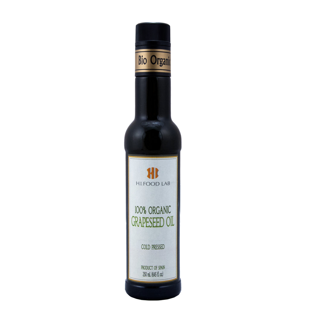 100% Organic Grapeseed Oil - 250ml