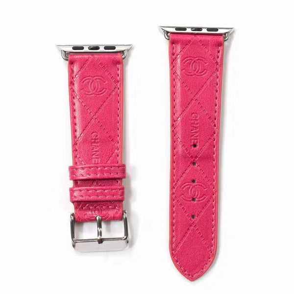 DESIGNER COCO APPLE WATCH BAND - HOT PINK