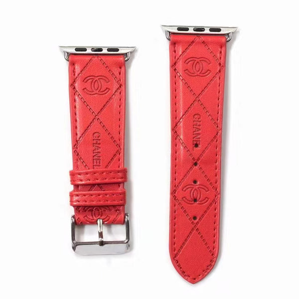 DESIGNER COCO APPLE WATCH BAND - RED