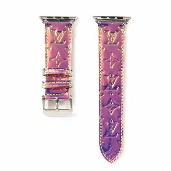 LV CHAMELEON APPLE WATCH BAND - PURPLE