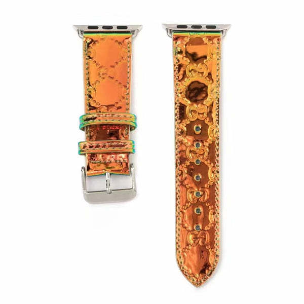 GG CHAMELEON APPLE WATCH BAND - ORANGE
