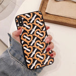 BURBERRY MONOGRAM BUMPER EDGE CASE - BLACK & YELLOW