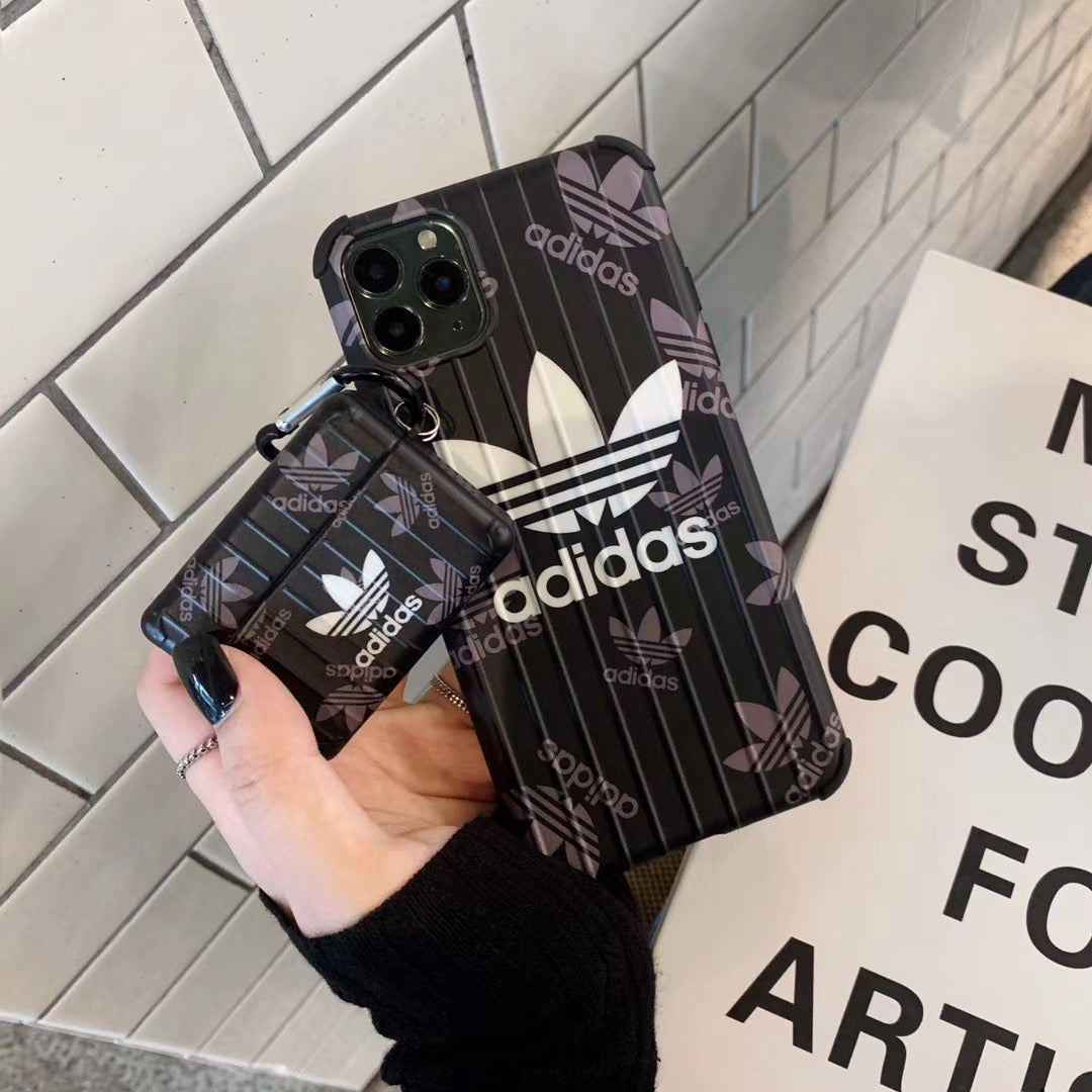 Adidas iPhone Case & Airpod Case Bundle