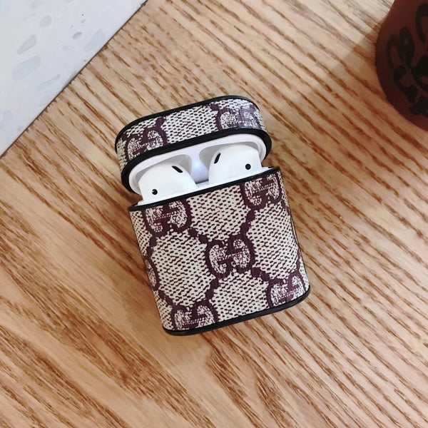 New GG Brown Monogram Protective Airpod Case