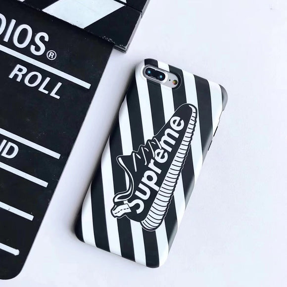Supreme Yeezy Stripes Case (Black)