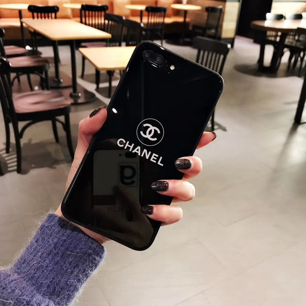 CC Protective Iphone Case - Black
