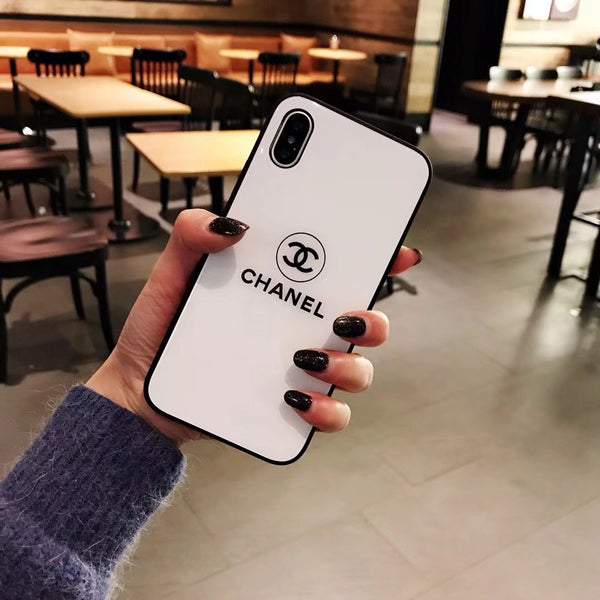 CC Protective Iphone Case - White