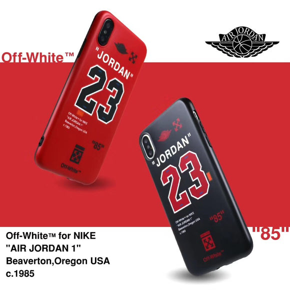 Jordan X OFF Whit3 Soft Case