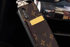 Monogram ID/Card Holder Case