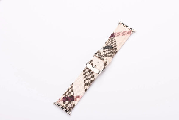TAN BUR WATCH BAND