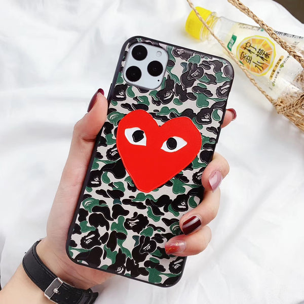 Bape Comme Protective iPhone Case