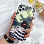 Supreme Model Protective iPhone Case - Stripes