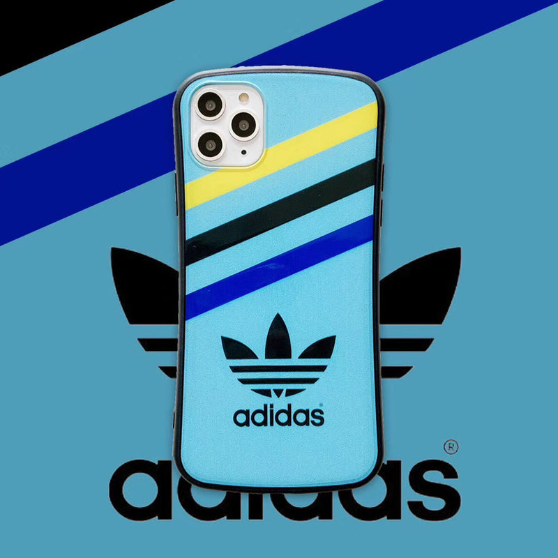 ADIDAS STRIPES PROTECTIVE IPHONE CASE - TEAL
