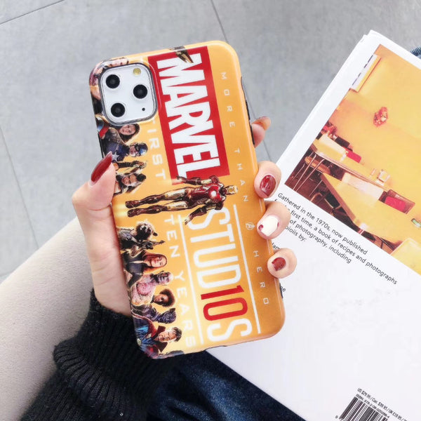 Marvel Protective Iphone Case (Various Models)